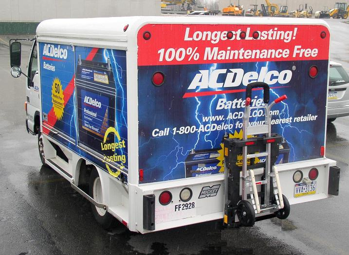 ACDelco Batteries Mickey Battery Bodies
