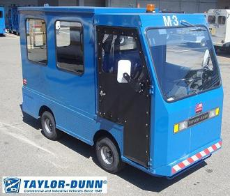 Taylor-Dunn B-248 48V GT mail delivery vehicle