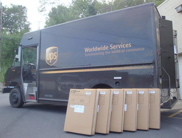 HTS Systems UPS Ground shipments